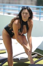 CASEY BATCHELOR in Swimsuit on Vacation in Cyprus 10/21/2017