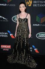 CASSANDRA COMPTON at Bafta Los Angeles Britannia Awards in Los Angeles 10/27/2017