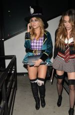 CASSIE SCERBO at Matthew Morrison Halloween Party at Poppy Night Club in Hollywood 10/28/2017