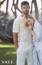 CATE BLANCHERR and Chris Hemsworth for Vogue Magazine, Australia November 2017