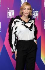 CATE BLANCHETT at BFI Southbank in London 10/06/2017