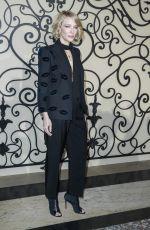 CATE BLANCHETT at Givenchy Fashion Show at Paris Fashion Week 10/01/2017