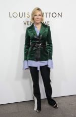 CATE BLANCHETT at Louis Vuitton's Boutique Opening at Paris Fashion Week 10/02/2017