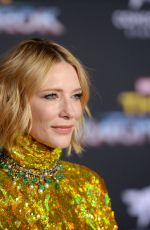 CATE BLANCHETT at Thor: Ragnarok Premiere in Los Angeles 10/10/2017