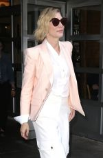 CATE BLANCHETT Out and About in New York 10/12/2017