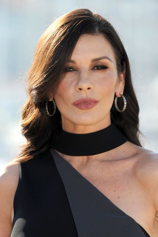 CATHERINE ZETA JONES at Cocaine Godmother Photocall at Mipcom in Cannes 10/16/2017