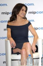 CATHERINE ZETA JONES at Cocaine Godmother Press Conference at Mipcom in Cannes 10/17/2017
