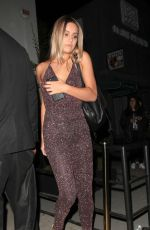 CAYLEY KING at Catch LA in West Hollywood 10/05/2017