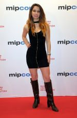 CELESTE FIANNA at Mipcom Opening Cocktail in Cannes 10/16/2017