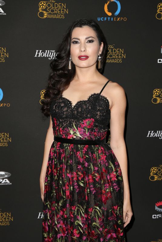 CELESTE THORSON at 2nd Annual Golden Screen Awards in Los Angeles 10/2017