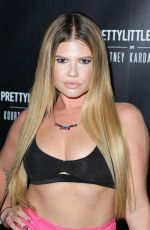 CHANEL WEST COAST at Prettylittlething by Kourtney Kardashian Launch in Los Angeles 10/25/201