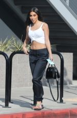 CHANTEL JEFFRIES Out for Lunch in Hollywood 10/28/2017