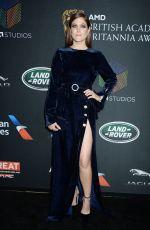 CHARITY WAKEFIELD at Bafta Los Angeles Britannia Awards in Los Angeles 10/27/2017