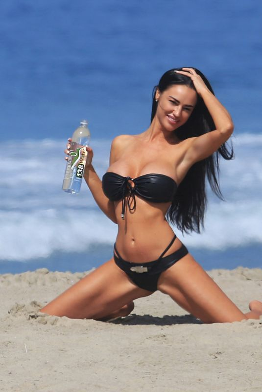 CHARLIE RIINA in Bikini for 138 Water Photoshoot in Malibu 10/09/2017