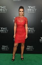 CHARLIE WEBSTER at Best Fifa Football Awards in London 10/23/2017
