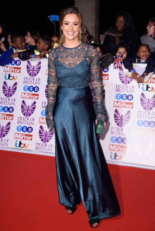CHARLIE WEBSTER at Pride of Britain Awards 2017 in London 10/30/2017