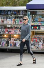 CHARLIZE THERON Heading to a Gym in Los Angeles 10/30/2017