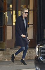 CHARLIZE THERON Leaves Her Hotel in Montreal 10/26/2017