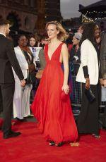 CHARLOTTE CARROLL at Breathe Premiere at BFI London Film Festival 10/04/2017