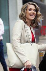 CHARLOTTE HAWKINS Leaves ITV Studios in London 11/10/2017