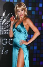 CHARLOTTE MCKINNEY at Tequila Casamigos Halloween Bash in Los Angeles 10/27/2017