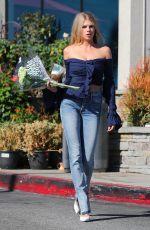 CHARLOTTE MCKINNEY Buying Flower in Los Angeles 10/08/2017