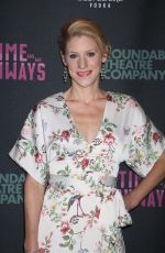 CHARLOTTE PARRY at Time and the Conways Opening Night in New York 10/10/2017