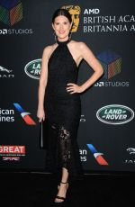 CHARLOTTE ROTHWEL at Bafta Los Angeles Britannia Awards in Los Angeles 10/27/2017
