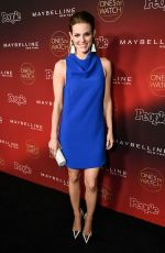 CHELSEY CRISP at People's Ones to Watch Party in Los Angeles 10/04/2017