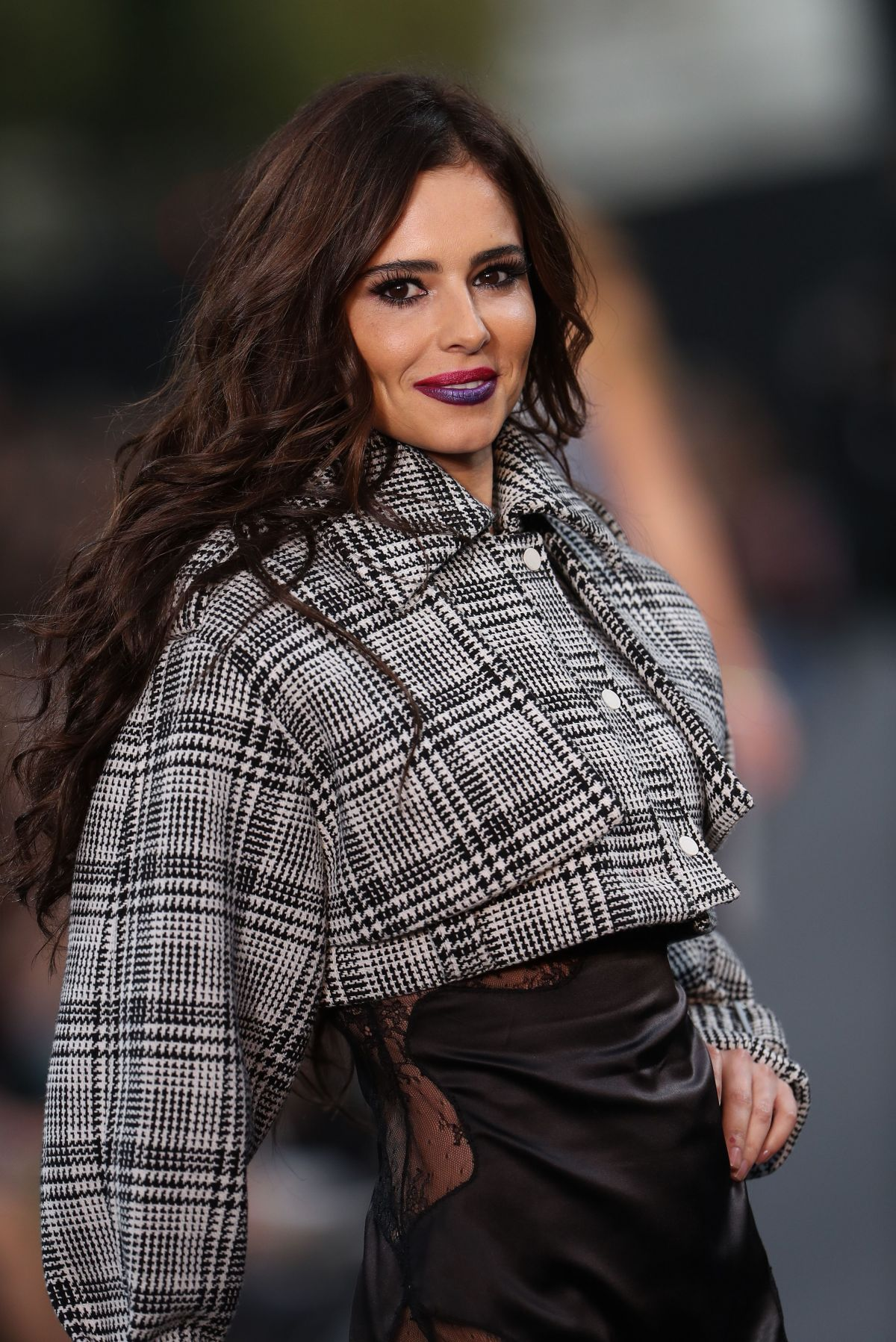 CHERYL COLE at L'Oreal Runway Show at Paris Fashion Week ... Cheryl Cole