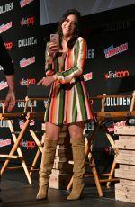 CHLOE BENNET at Agents of S.H.I.E.L.D. Panel at Ney York Comic-con 10/07/2017