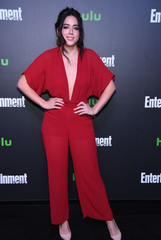 CHLOE BENNET at Hulu