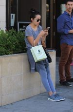 CHLOE BENNET Leaves Thibiant Beverly Hills Medical Spa 10/20/2017