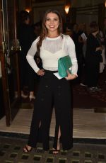 CHLOE HEWITT at Annie Press Night at Piccadilly Theatre in London 10/02/2017