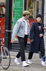 CHLOE MORETZ and Brooklyn Beckham at Tesco Store in Dublin 10/07/2017
