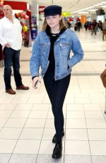 CHLOE MORETZ at Pearson International Airport in Toronto 10/25/2017