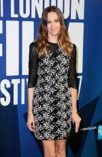 CHLOE PIRRIE at 61st BFI London Film Festival Awards in London 10/14/2017