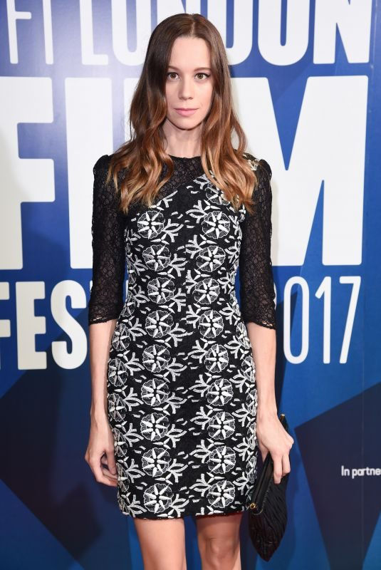CHLOE PIRRIE at 61st BFI London Film Festival Awards in London 10/14/2017