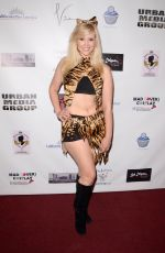 CHRISSY LEIGH ANDERSON at Halloween Hotness 4: Heating Up for the Cure in Hollywood 10/15/2017