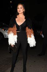 CHRISSY TEIGEN at Chrissy Teigen Revolve Launch Party in Los Angeles 10/11/2017