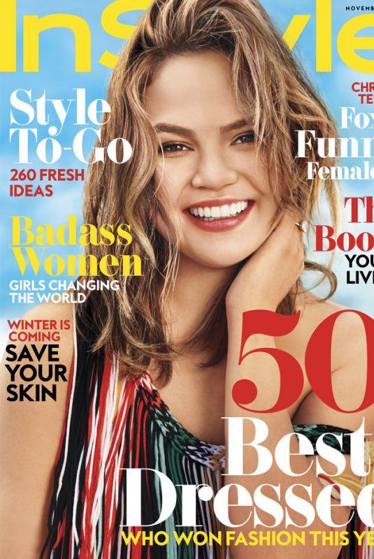 CHRISSY TEIGEN in Instyle Magazine, November 2017 Issue