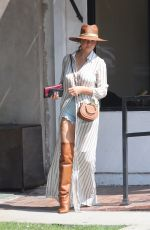 CHRISSY TEIGEN Out and About in Los Angeles 09/30/2017