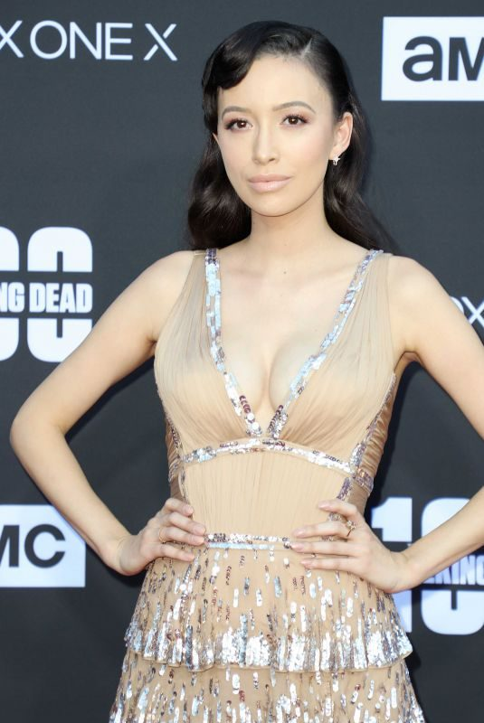CHRISTIAN SERRATOS at The Walking Dead, Season 8 Premiere in Los Angeles 10/22/2017