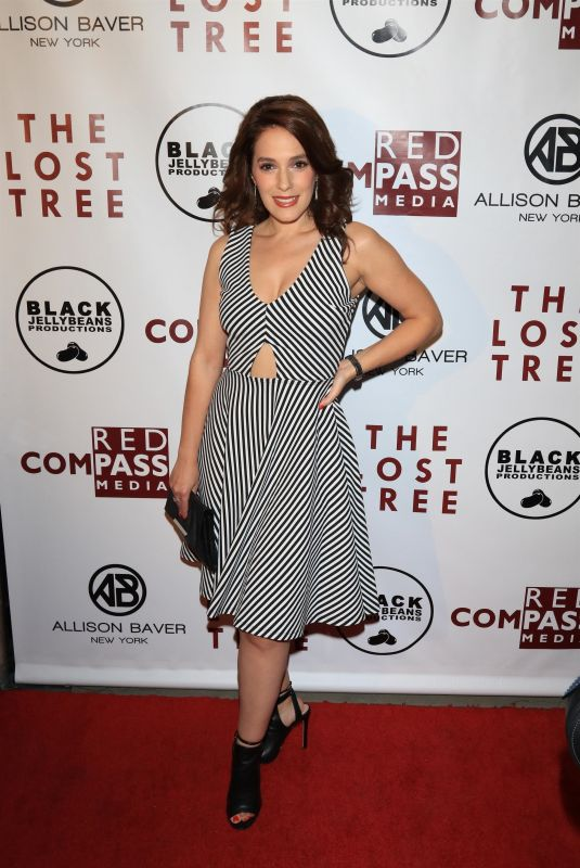 CHRISTINA DEROSA at The Lost Tree Premiere in Los Angeles 10/09/2017
