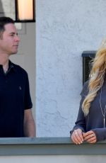CHRISTINA EL MOUSSA and Tarek El Moussa Film Their Show Flip or Flop in Orange County 10/06/2017