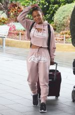 CHRISTINA MILIAN Arrives in Sydney 10/11/2017