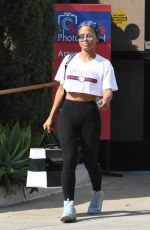 CHRISTINA MILIAN Out and About in Los Angeles 09/30/2017