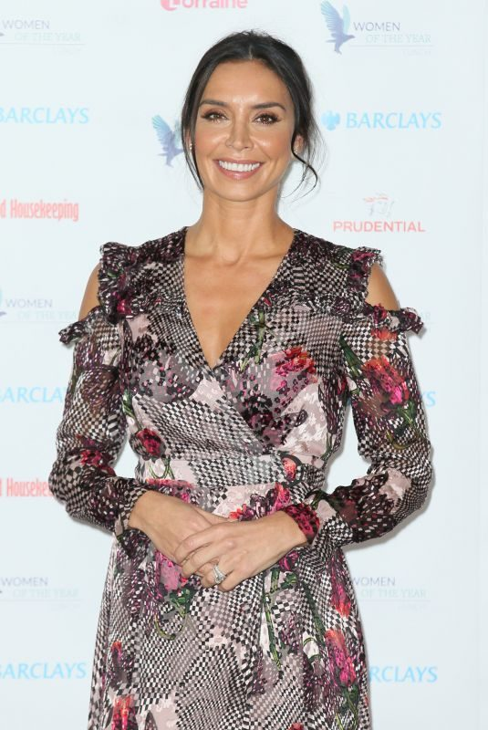 CHRISTINE LAMPARD at Women of the Year Lunch in London 10/16/2017