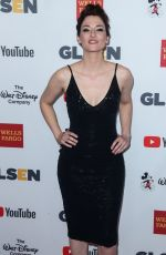 CHYLER LEIGH at Glsen Respect Awards in Los Angeles 10/20/2017