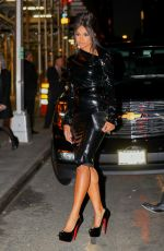 CIARA Arrives at Bulgari Flagship Store Opening in New York 10/20/2017